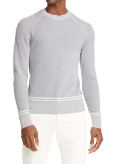 Z Zegna Stripe Wool Sweater