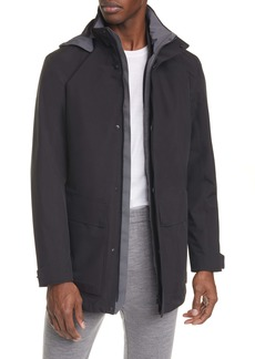 Z Zegna Trim Fit 3-in-1 Raincoat