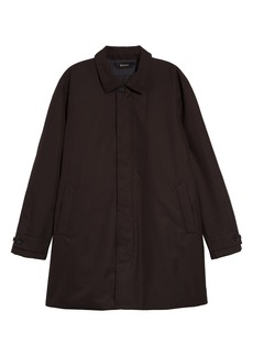 Z Zegna Waterproof Microtene Trench