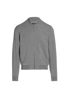 Zegna Zip-Front Sweatshirt