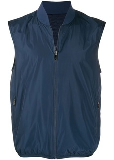 Zegna zipped up vest