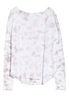 Zella Garment Wash Long Sleeve Studio T-Shirt