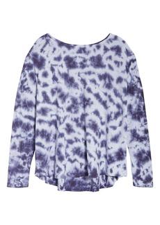 Zella Garment Wash Studio Top (Plus Size)