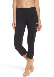 Zella Intrigue High Waist Crop Leggings
