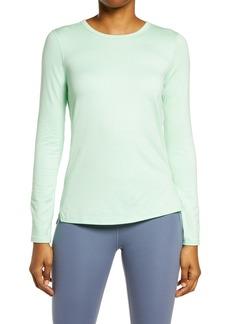 Zella Liana Long Sleeve Recycled Blend Performance T-Shirt