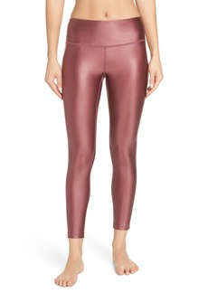 Zella High Waist Shine Midi Leggings