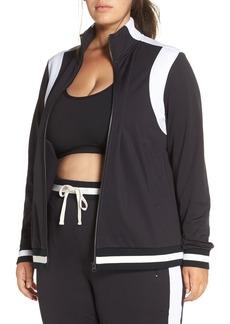Zella Match-Up Reflective Track Jacket (Plus Size)