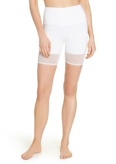 Zella Mia Vision High Waist Mesh Bike Shorts