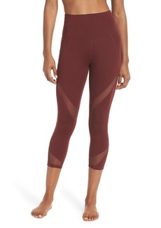 Zella Moroccan High Waist Crop Leggings
