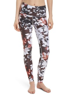 Zella Print Slick High Waist Leggings