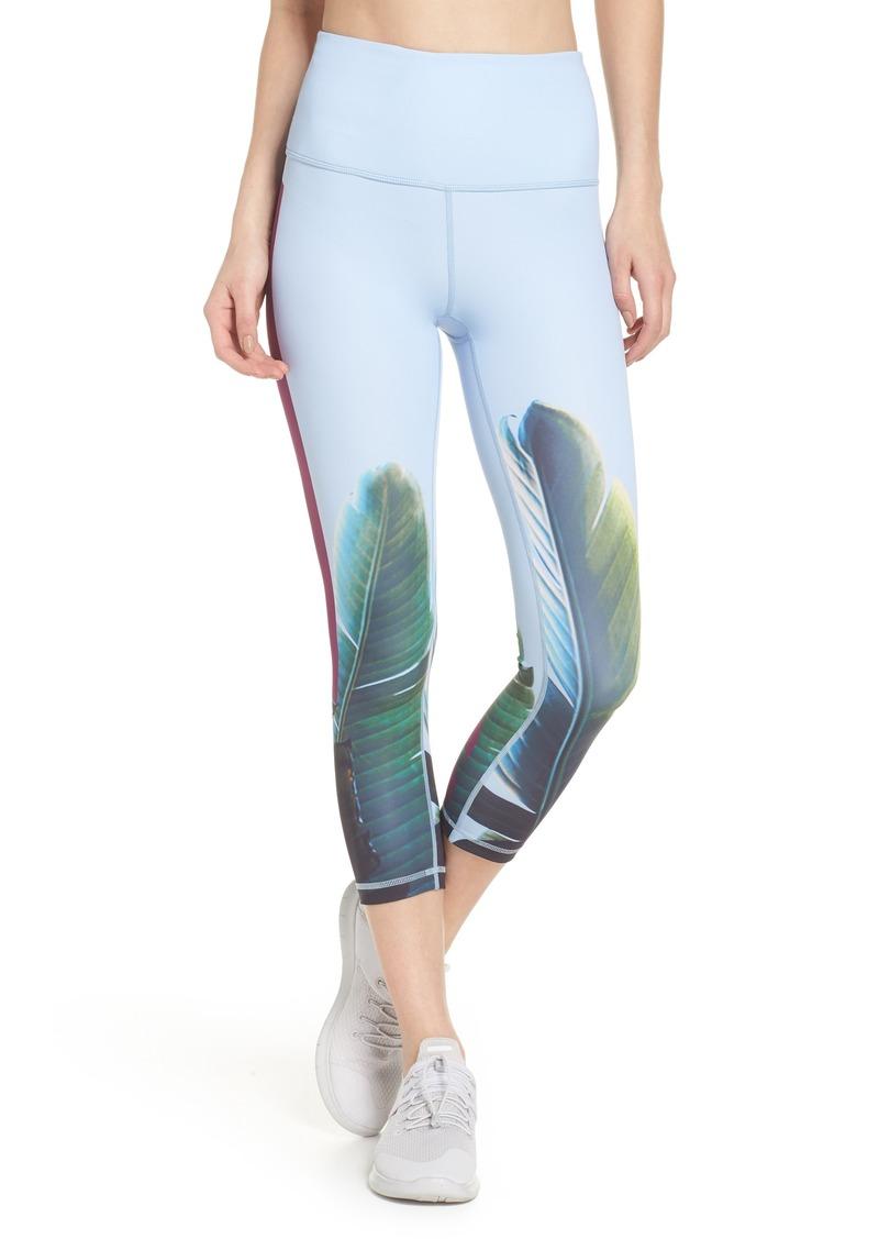 26a14a328a3d08 On Sale today! Zella Zella Pure Vision High Waist Crop Leggings