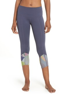 Zella Re-Center Crop Recycled Leggings