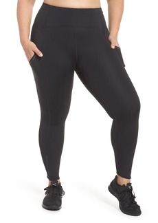 Zella Sprint In High Waist Midi Leggings (Plus Size)