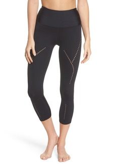 Zella Starry Eyed High-Waist Crop Leggings