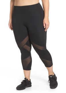 Zella Swift II Crop Leggings (Plus Size)