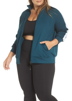 Zella Taylor Track Jacket (Plus Size)