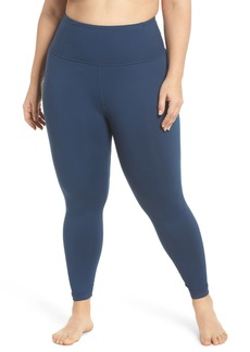Zella Lightweight High Waist Midi Leggings (Plus Size)