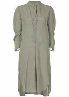 Zero + Maria Cornejo gingham-print dress