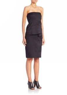 Zero + Maria Cornejo Lykke Strapless Dress
