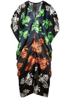 Zero + Maria Cornejo printed V-neck dress