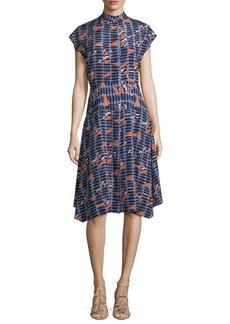 Zero + Maria Cornejo Adi Silk Shirt Dress