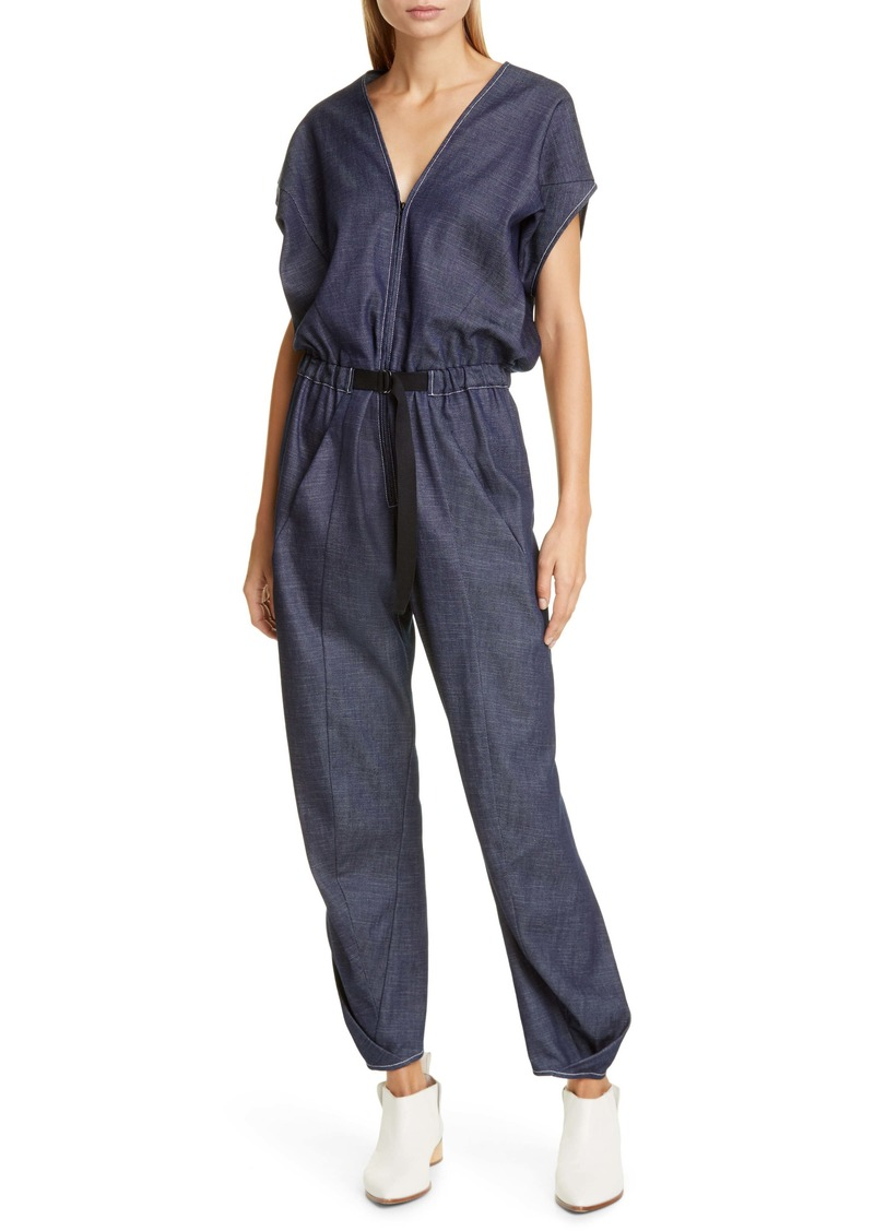 Zero + Maria Cornejo Akeo Organic Cotton Denim Jumpsuit
