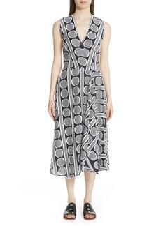 Zero + Maria Cornejo Circle Fil Coupé Dress