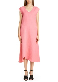 Zero + Maria Cornejo Circle Swing Midi Dress