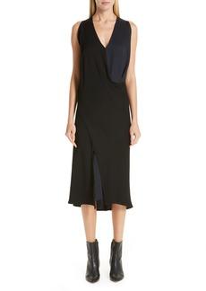 Zero + Maria Cornejo Colorblock Dress