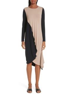 Zero + Maria Cornejo Colorblock Jersey Dress