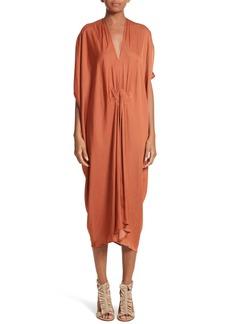 Zero + Maria Cornejo Drape Drift Dress