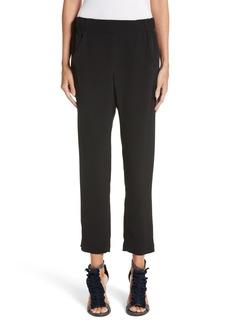 zero + Maria Cornejo Elli Slim Leg Pants
