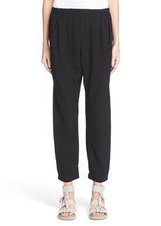 Zero + Maria Cornejo Gabi Drape Trousers