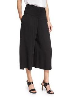 Zero + Maria Cornejo High-Waist Culotte Pants