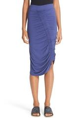 Zero + Maria Cornejo 'Kia' Ruched Sim Jersey Skirt
