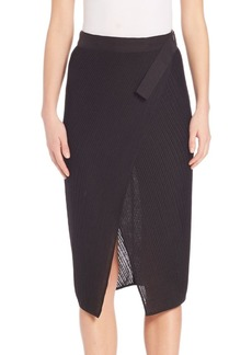 Zero + Maria Cornejo Lisse Wrap Skirt