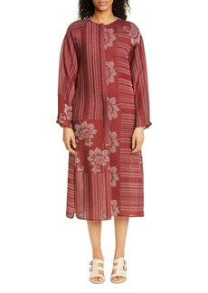 Zero + Maria Cornejo Luca Long Sleeve Shirtdress