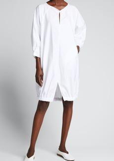 Zero + Maria Cornejo Luca Shift Cotton Dress