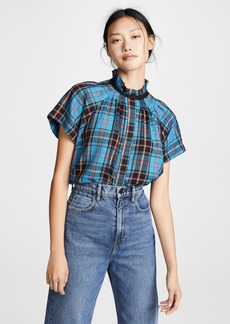 Zero + Maria Cornejo Pintuck Gaban Shirt