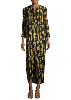 Zero + Maria Cornejo Print Shift Dress