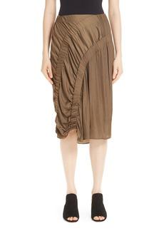 Zero + Maria Cornejo Ruched Skirt