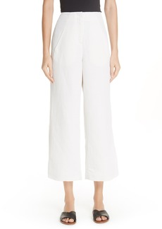 Zero + Maria Cornejo Tin Side Slit Crop Pants
