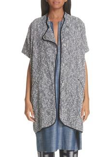 Zero + Maria Cornejo Tweed Jacket