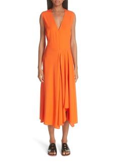 Zero + Maria Cornejo Wave Side Drape Dress
