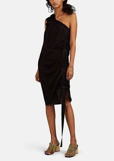 Zero + Maria Cornejo Women's Clio One-Shoulder Asymmetric Dress