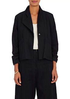 Zero + Maria Cornejo Women's Edi Cotton-Blend Bomber Jacket