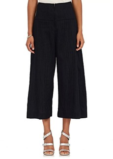 Zero + Maria Cornejo Women's Elliott Cotton-Blend Chambray Pants
