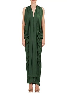Zero + Maria Cornejo Women's Eve Foil Maxi Dress