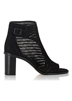 Zero + Maria Cornejo Women's Fern Perforated Suede Ankle Boots