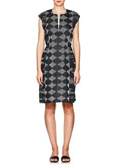 Zero + Maria Cornejo Women's Geometric-Pattern Gauze Dress